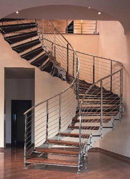 Как сделать лестницу переход 77