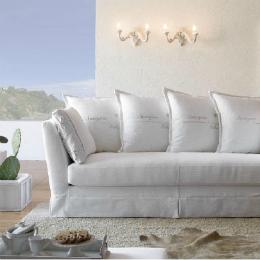 hvordan sette sammen puter i sofa