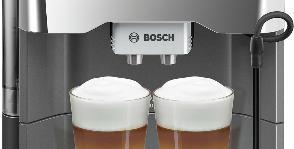 Две чашки кофе в одно касание от Bosch