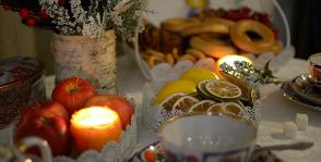 Школа «Детали» провела вечер-чаепитие по-русски