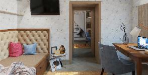 Трехкомнатная квартира в Москве: уютное гнездышко для молодой семьи