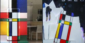 SMEG создает художественный холодильник