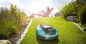 GARDENA стрижет газон легко
