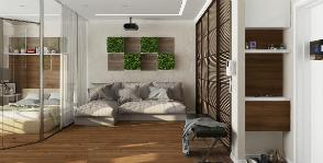 Однокомнатная квартира-студия для энергичной и амбициозной девушки