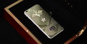 Патриотичные смартфоны от Caviar