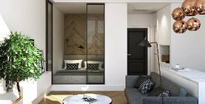 Воздушное пространство: <strong>8</strong> способов сохранить площадь однокомнатной квартиры
