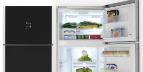 Зеркальные холодильники BEKO