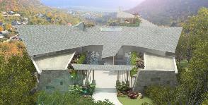 Дом на скале: проект Александра Бурыкина