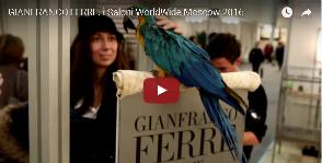 Итальянские фантазии Gianfranco Ferre.<br>Видео с i Saloni WorldWide Moscow 2016