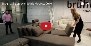 Диванные трансформации Bruhl.<br>Видео с i Saloni WorldWide Moscow 2016