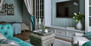 Единым фронтом: как совместить гостиную и спальню
