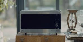 LG обжигает фарфор в микроволновке
