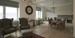 Воздушная квартира в скандинавском стиле: дизайнер Катя Корчинова