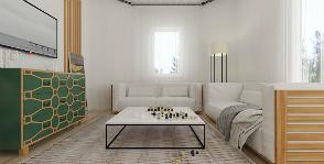Интерьер дома каркасного типа: дизайнер Яна Сахаревич