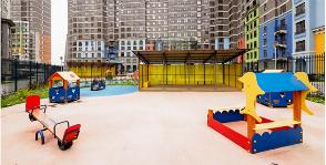 Новый детский сад в доме с авторской архитектурой в Химках