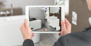Мобильное приложение Villeroy & Boch поможет спроектировать ванную