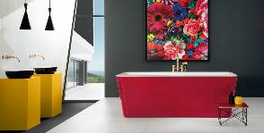 Яркая ванная от Villeroy & Boch
