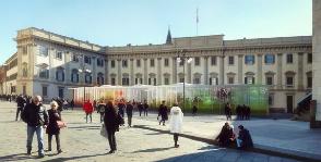 Salone del Mobile.Milano озеленяют город