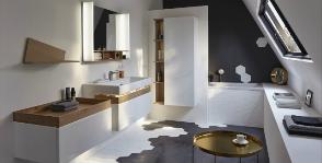 Коллекция Terrace от Jacob Delafon для ванных комнат скромных размеров