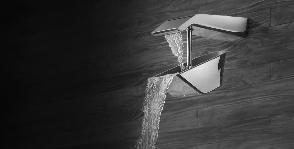 Инновационная душевая система TumbleRain от компании Jaquar Group и бренда Artize