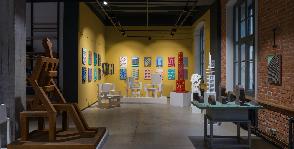Выставка Игоря Шелковского в галерее Палисандр
