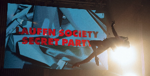 LAUFEN SOCIETY. SECRET PARTY
