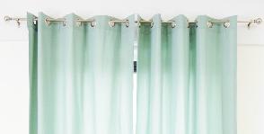 Как правильно вешать шторы
