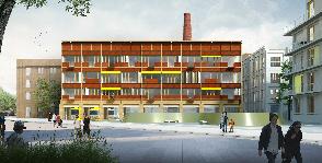 Выставка проектов победителей Второй Российской молодежной архитектурной биеннале