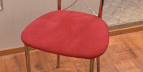 Как переобить стул?