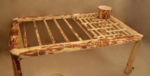 Как сделать мебель «из веток»
