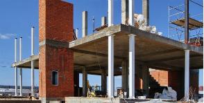 Шаг 9. Устройство колонн второго этажа