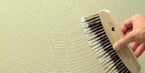 Декоративные штукатурки: технология нанесения