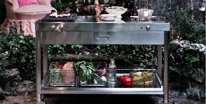 Садовая кухня от Alpes