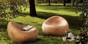 <strong>12</strong> предметов мебели для дачи из дерева