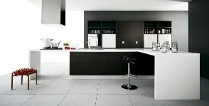<strong>20</strong> черно-белых кухонь