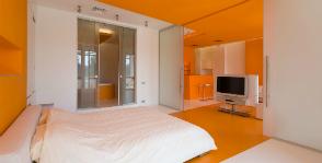 Квартира-студия: цветовое и конструктивное решение