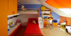 Комната школьника: зонирование и меблировка
