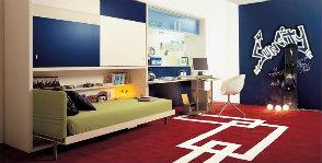 Комната подростка: зонирование и меблировка