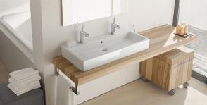 <strong>13</strong> моделей столешниц для ванной