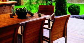 Деревянная садовая мебель: нюансы выбора