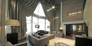 <strong>21</strong> модель штор для современной гостиной