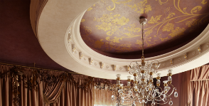<strong>20</strong> дизайнерских решений потолка спальни