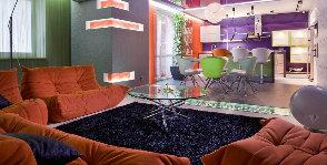 Цвет в гостиной
