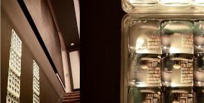 <strong>15</strong> стеклоблоков в интерьере