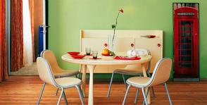 Цвет в столовой