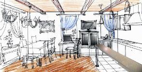 Кухня-гостиная: как их объединить?