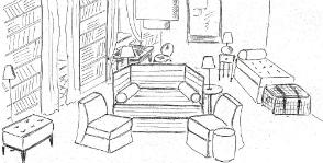 Планировка гостиной: временная и на будущее