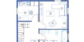 Дачный домик с мансардой: как обустроить и расставить мебель?
