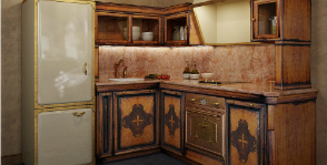 Как рационально расставить мебель на кухне?