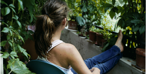 Сад на балконе